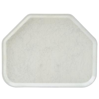 "Cambro 1418TR531 14"" x 18"" Trapezoid Galaxy Antique Parch..."