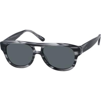 Zenni Womens Sunglasses Black Frame Plastic A10120831