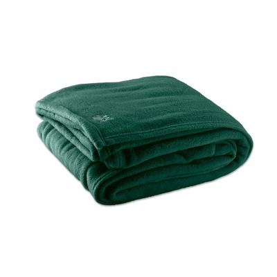Each Fleece Hotel Blanket - 100% Polyester - Jade Green K...