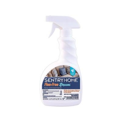 Sentry Home Flea-Free Breeze Home & Carpet Spray, 24-oz bottle; Protect your home and pets from parasitic pests with the power of Sentry Home Flea-Free Breeze Home & Carpet Spray. This highly-effective, dual-action, water-based spray is designed to...
