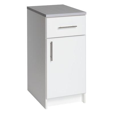 Prepac Elite White Tall Base Cabinet
