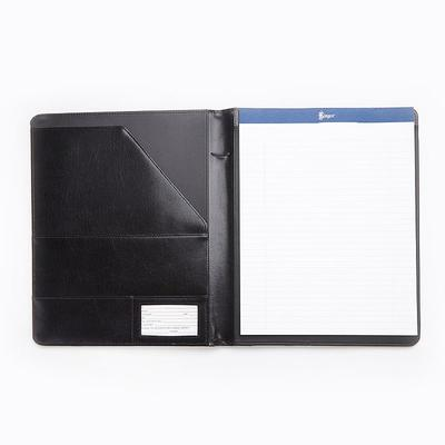 Royce Leather Aristo Padfolio, Black