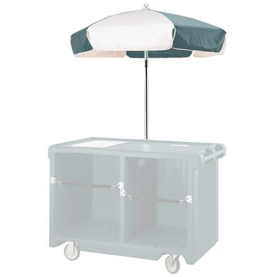 Cambro 14321 Green and White Replacement Umbrella for CVC...