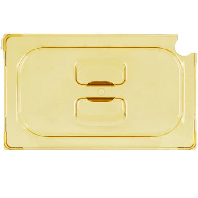 Vollrath 34400 Super Pan 1/4 Size Amber High Heat Slotted...