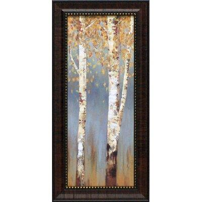 Artistic Reflections Butterscotch Birch Trees II by Pearc...