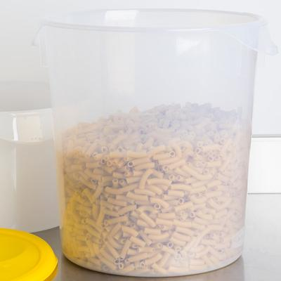 Rubbermaid FG572824CLR 22 Qt. Translucent Round Food Stor...