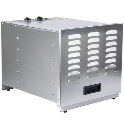 Weston 74-1001-W 10-Rack Stainless Steel Dehydrator - 1000W