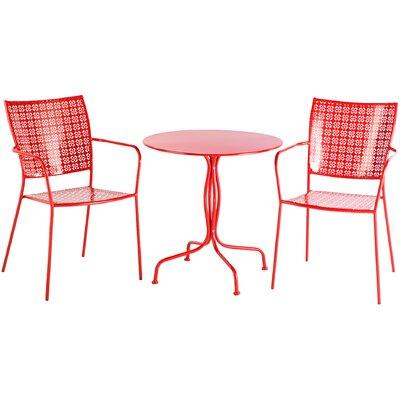 Alfresco Martini Patio Bistro Set - Cherry Pie