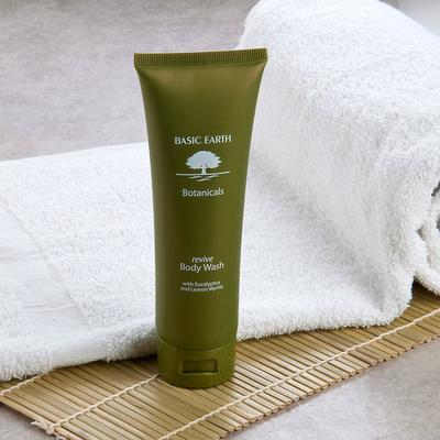 Basic Earth Botanicals Reviving Body Wash with Flip-Top C...