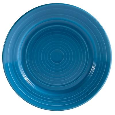 "C.A.C CAC TG-6-PCK Tango 6 1/2"" Peacock Round Plate - 36/..."
