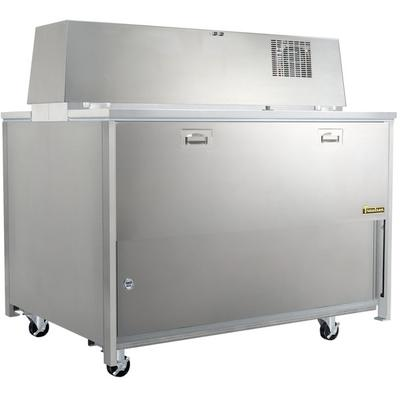 """TRAULSEN RMC58D6 58"""" Double Sided School Milk Cooler with..."""