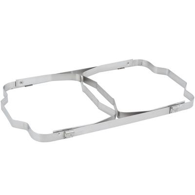 Update International 8 Qt. Stainless Steel Rectangular Fo...