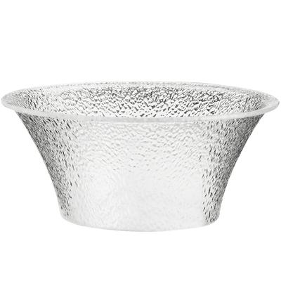 "CAL-MIL 403-10-34 10 1/4"" Clear Acrylic Pebble Bell Bowl"