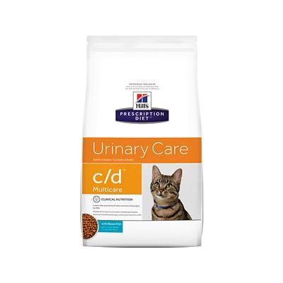Hill's Prescription Diet c/d Multicare with Ocean Fish Urinary Tract Health Dry Cat Food, 4-lb