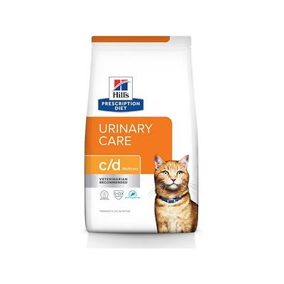 Hill's Pet Nutrition c/d Multicare with Ocean Fish Urinary Tract Health Dry Cat Food, 8.5-lb bag