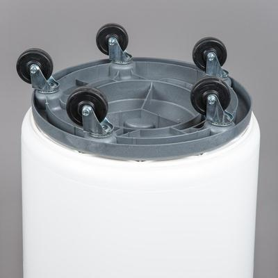 Continental 27444IBKIT 44 Gallon White Ingredient Bin / T...