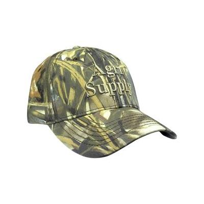 Camo Cap, Agri Supply With Velcro Back Apparel & Clothing