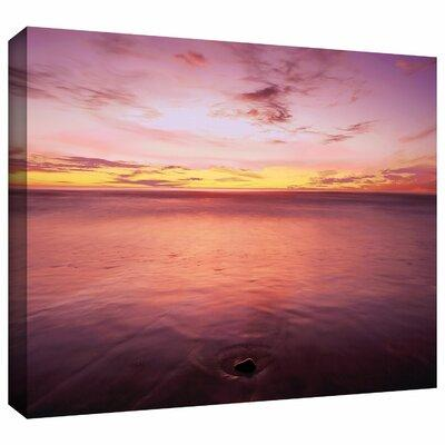 ArtWall 'Ponto Beach Twilight' by Dean Uhlinger Photograp...