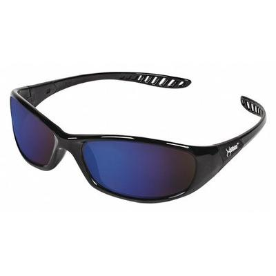 Jackson Safety Jackson Blue Mirror Safety Glasses, Scratc...