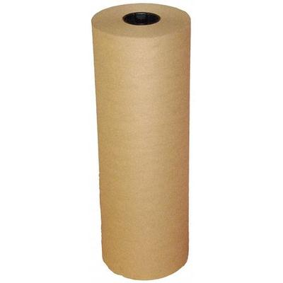VALUE BRAND 5PGN7 Kraft Paper, 50 lb., Natural, 24 In. W