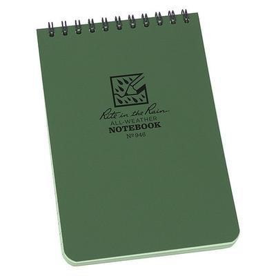 Rite in the Rain 946 Pocket Notebook, Universal, 4 x 6In.