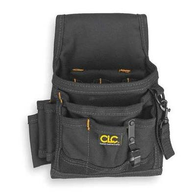 Clc Electrical/Maintenance Pouch w/ Belt Loop, Black, 1503