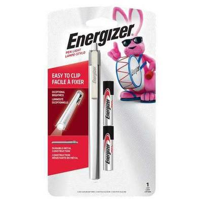 Energizer LED 21 Lumens Silver Inspection Flashlight ENER...
