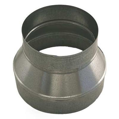 "Ductmate 12"" x 6"" Round Reducer Duct Fitting, 26 ga., GRR..."