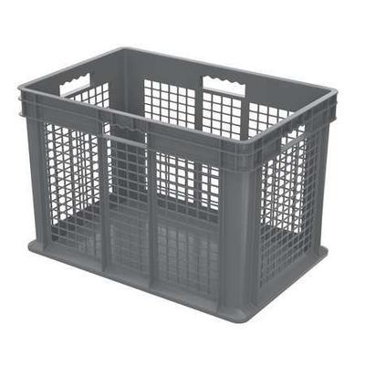 AKRO-MILS 37676GREY Container, 23-3/4 In. L, 15-3/4 In. W...