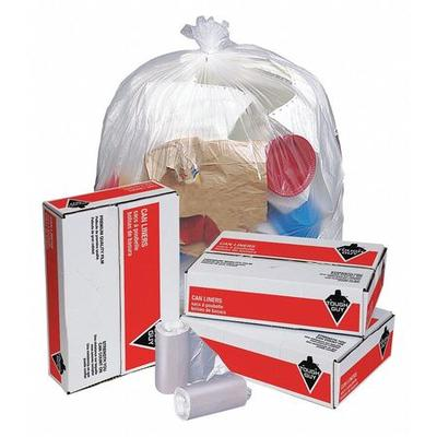 Tough Guy Trash Bags, 30 gal., 10 micron, PK500, 3U870