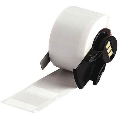 BRADY PTL-19-427 Printer Label, 1 In. W, Vinyl, PK 250