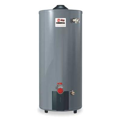 RHEEM 100 gal. Commercial Gas Water Heater, NG, 76000 Btu...