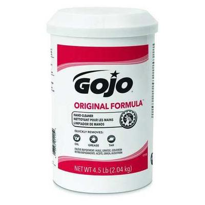 Gojo 1115 Hand Cleaner, Fragrance Free, PK 6