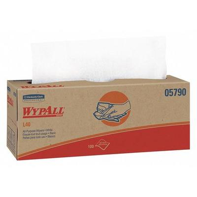 """Wypall Disposable Wipes, 9-1/2"""" x 16-2/5"""", 100 Sheets/ Pa..."""