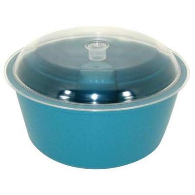 Raytec 23-005 Vibratory Tumbler Bowl and Lid, 8In Dia.