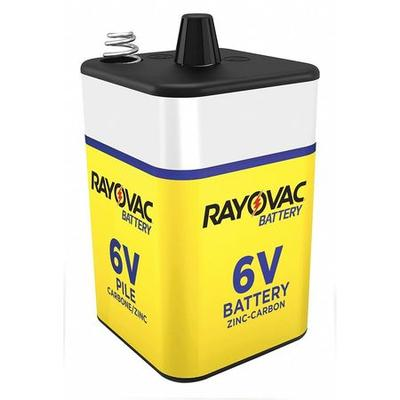Rayovac 945R4 Lantern Battery, Industrial, 6V, Screw Term