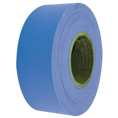 VALUE BRAND Flagging Tape,Fluorescent Blue,150 ft ZORO SELECT 17059
