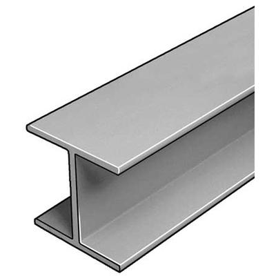 W-Beam,ISOFR,Gray,4x4 In,1/4 In Th,10 Ft DYNAFORM 871100