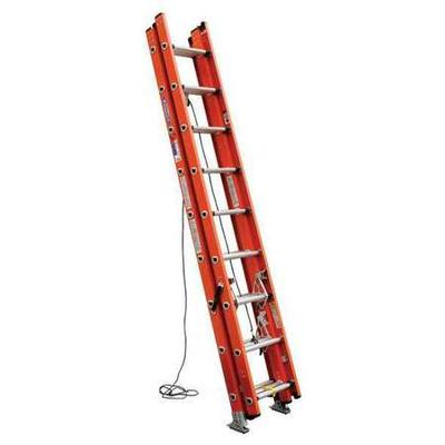 Extension Ladder, Fiberglass, 24 ft. , IA WERNER D6224-3