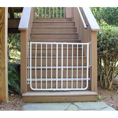 Cardinal Gates Stairway Special Outdoor Gate XT1070 Color: White