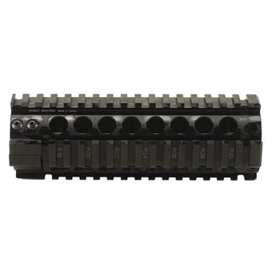 Midwest Industries Gen 2 Free Float 2-Piece Handguard Quad Rail AR-15 Carbine Length Aluminum Black