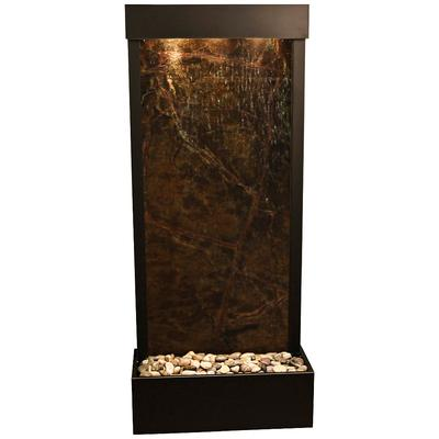 "ADAGIO Harmony River Black Copper Indoor Green Marble 70""..."