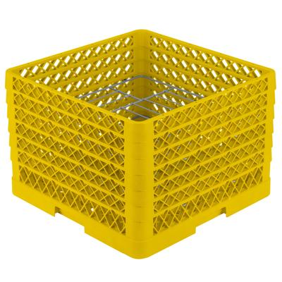 Vollrath PM1412-6 Traex Plate Crate Yellow 14 Compartment...