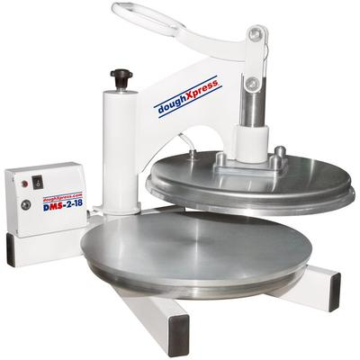 "Doughxpress DMS-2-18 18"" Dual Heated Manual Pizza / Torti..."
