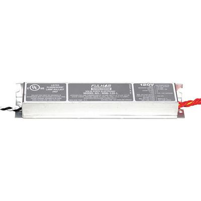 """8-1/2"""" Electronic Ballast, Fulham Workhorse, WH6-120-L"""