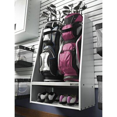 GLADIATOR Premier Series Golf Caddy Garage Wall Storage W...