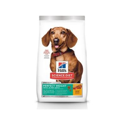 Hill's Science Diet Adult Small & Toy Breed Perfect Weight Dry Dog Food, 4-lb bag