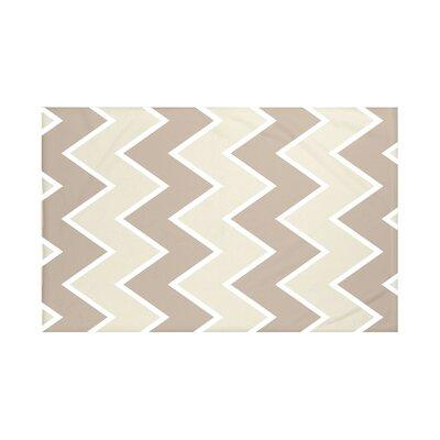 E By Design Inside The Lines Chevron Print Throw Blanket ...