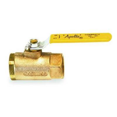"Apollo Bronze Ball Valve Inline 1-1/2"", 7010701"