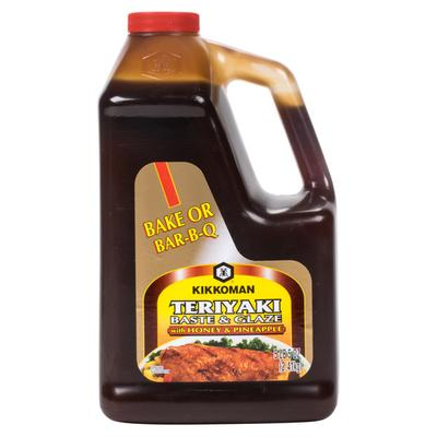 Kikkoman 5 lb. Teriyaki Baste and Glaze with Honey and Pi...